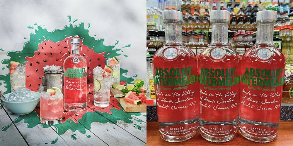 Watermelon Absolut Vodka Is Launching And It's Screaming Out To Be Made Into Summer Cocktails photo