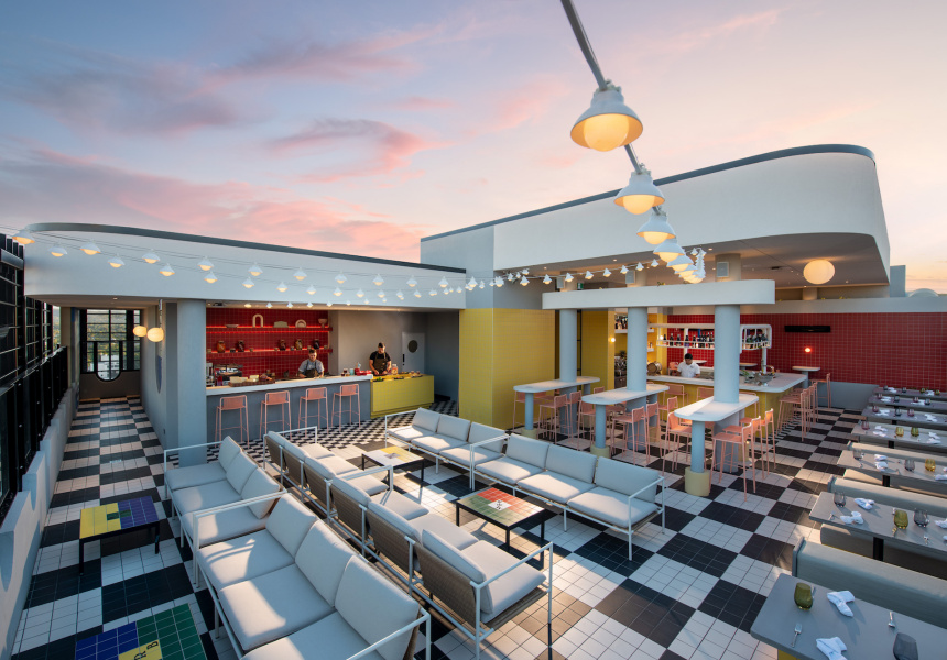 Now Open: Hotel Indigo Has Adelaide's Highest Rooftop Bar, A Restaurant Championing Local Producers And Minibars Stocked With Wattleseed Negronis photo