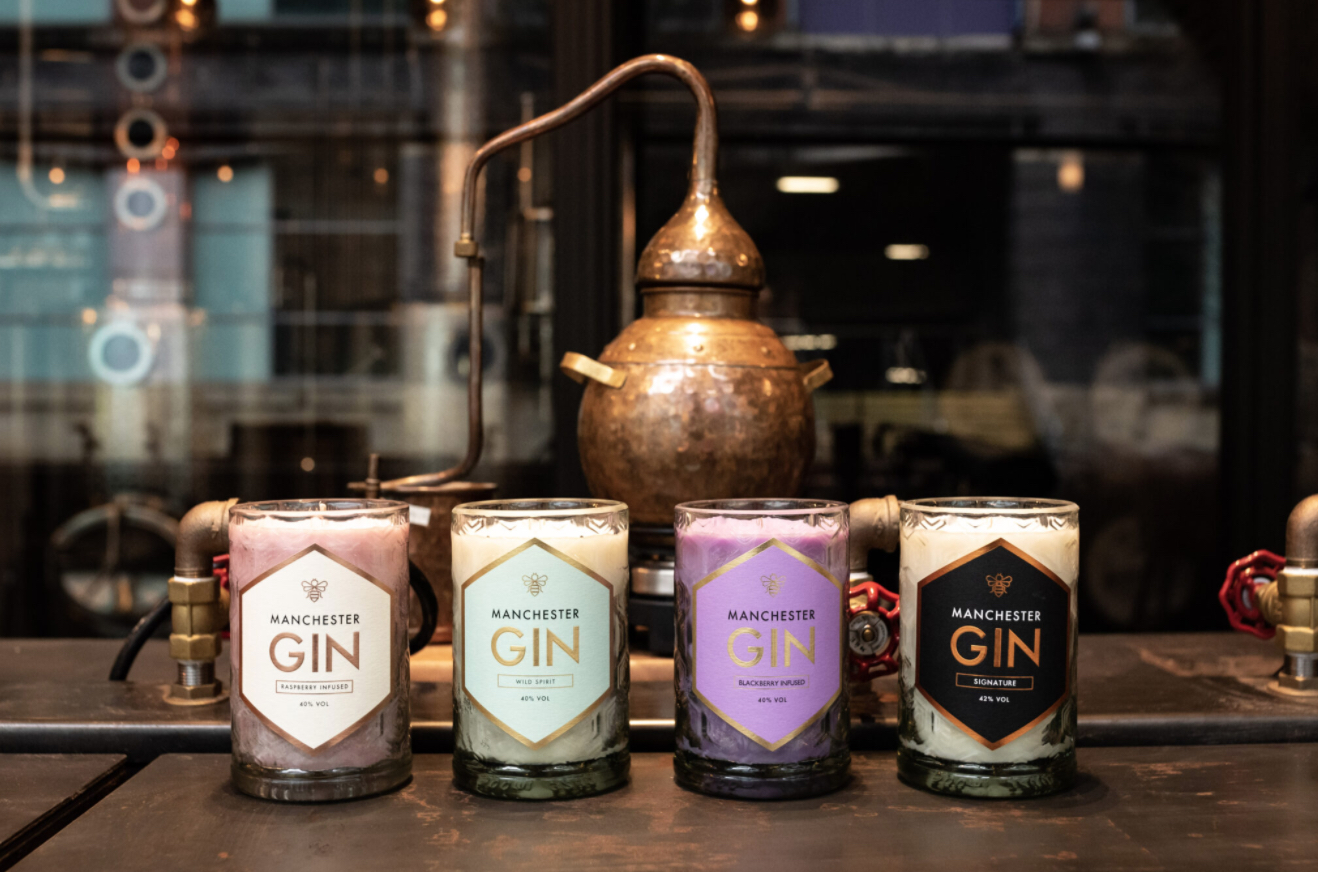 Manchester Gin's New Scented Candles: Treat Mum With The Gift Of Gin This Mother's Day photo