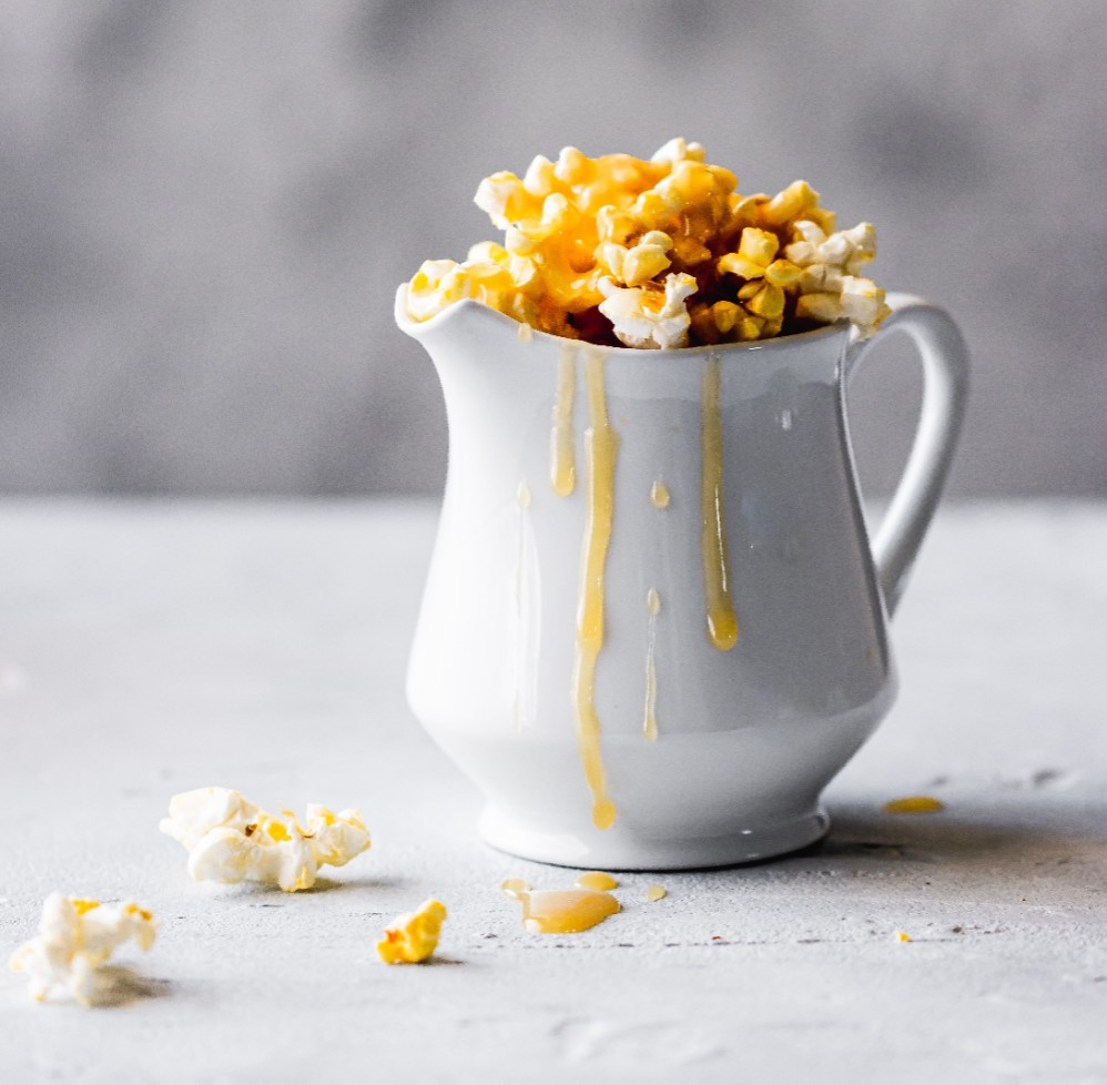 Tequila-Spiked Caramel Popcorn photo