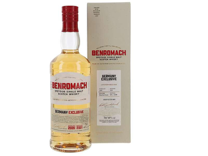 Benromach Germany Exclusive 2009: A Limited Single Malt Whisky From The Speyside photo