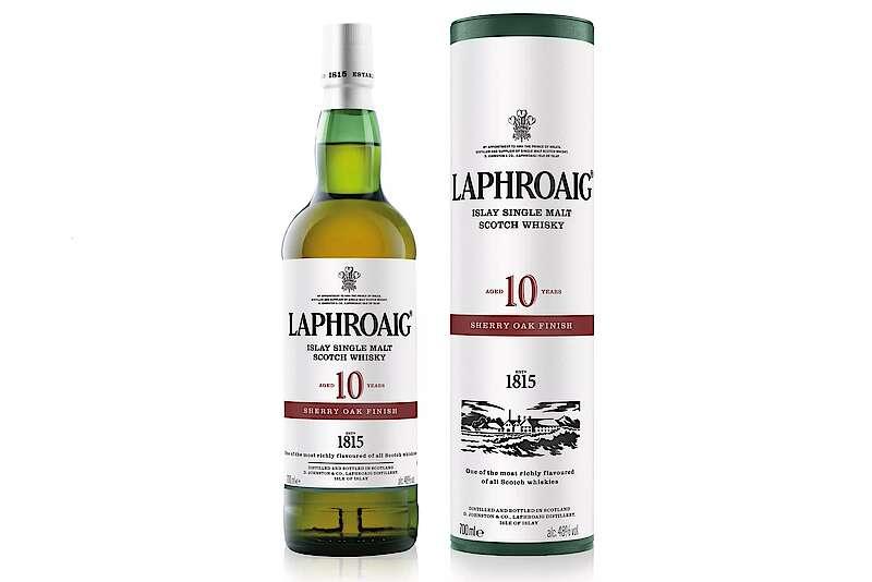 Laphroaig 10 Years Sherry Oak Finish Released photo