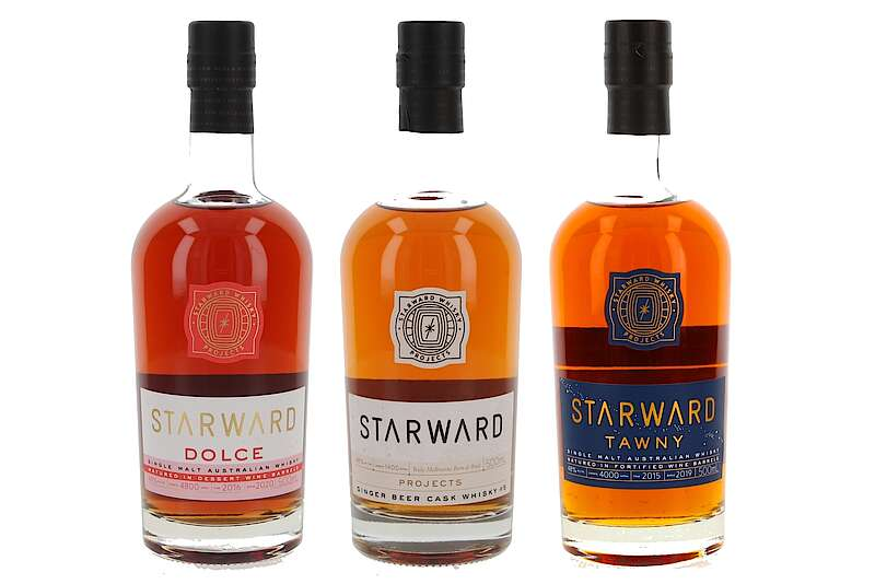Starward Whisky Projects: Dolce, Ginger Beer And Tawny photo