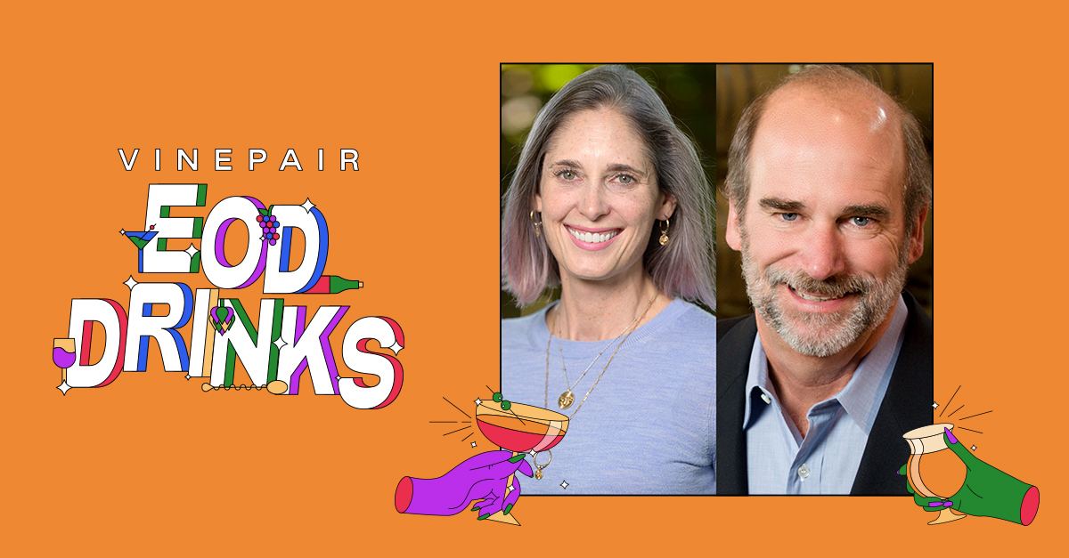 Eod Drinks With Bruce Cakebread And Stephanie Jacobs: Co-owner And Winemaker Of Cakebread Cellars photo