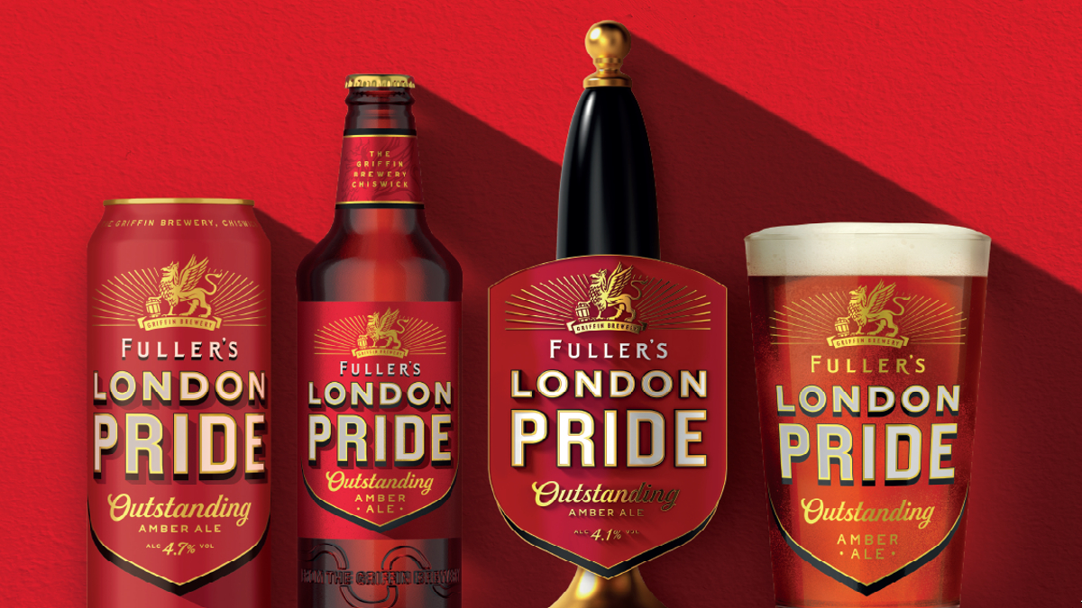 Asahi Rebrands Fuller's London Pride With Updated Lettering And Logo photo