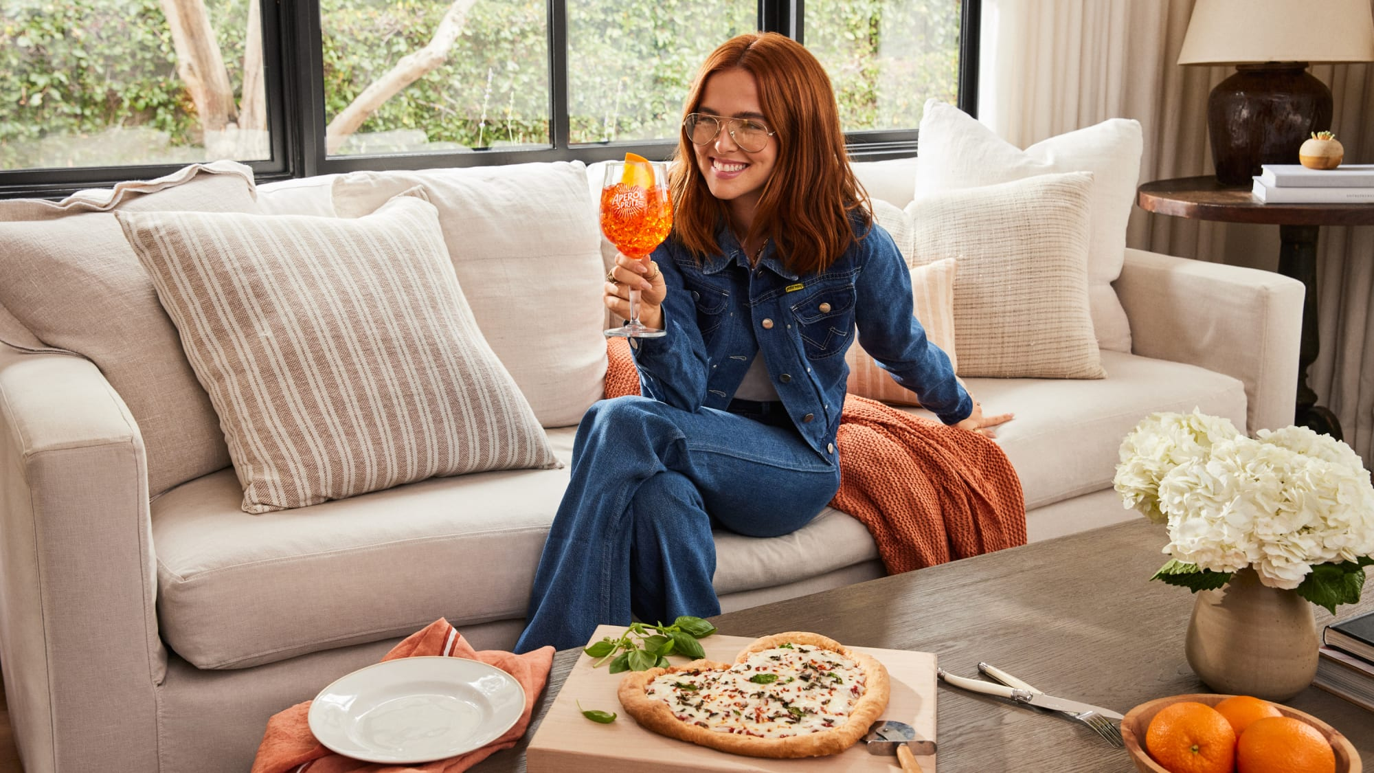Aperol Spritz And Pizza Are The Perfect Recipe For Pi Day photo