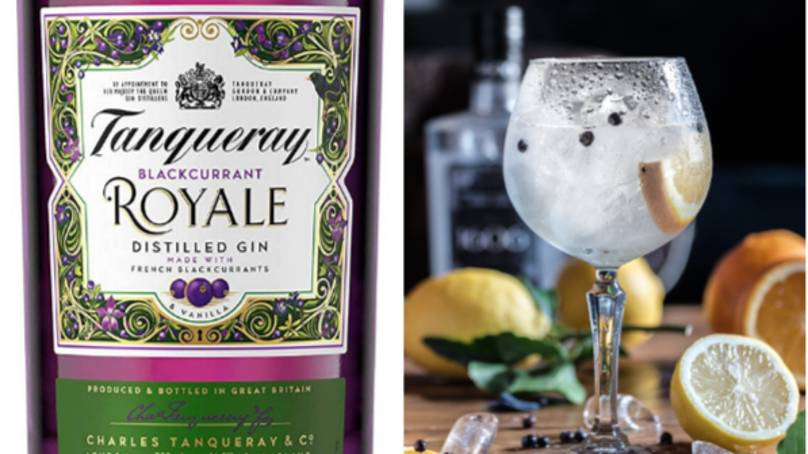 Tanqueray Launches New Blackcurrant Royale Flavoured Gin photo