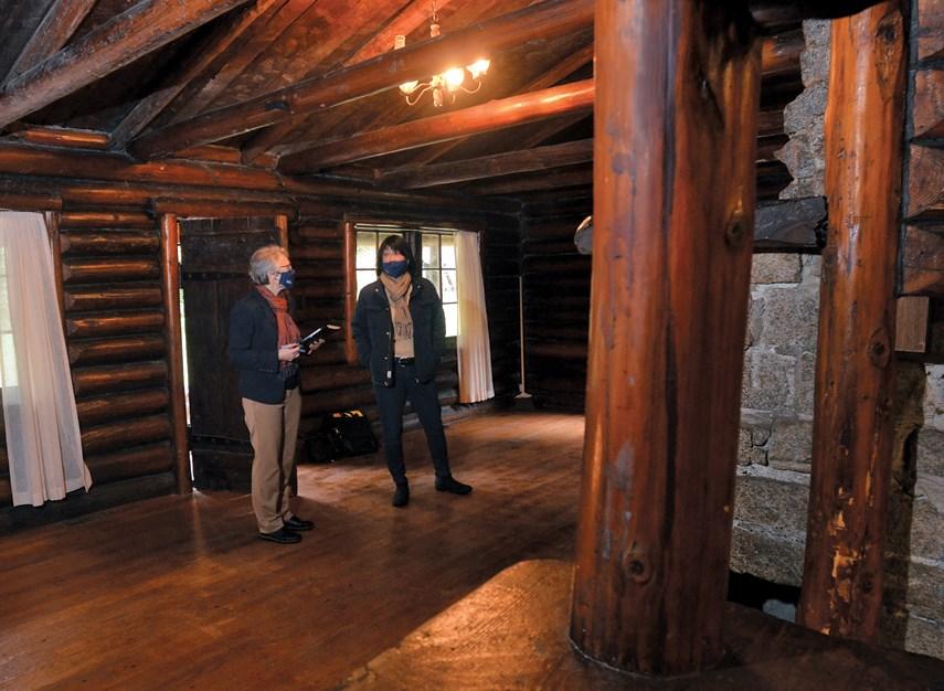 North Van's 'movie Star' Murdo Frazer Cabin To Get A Spruce-up photo