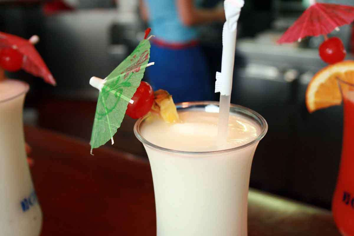Gluten-free Cocktails With Malibu Rum photo