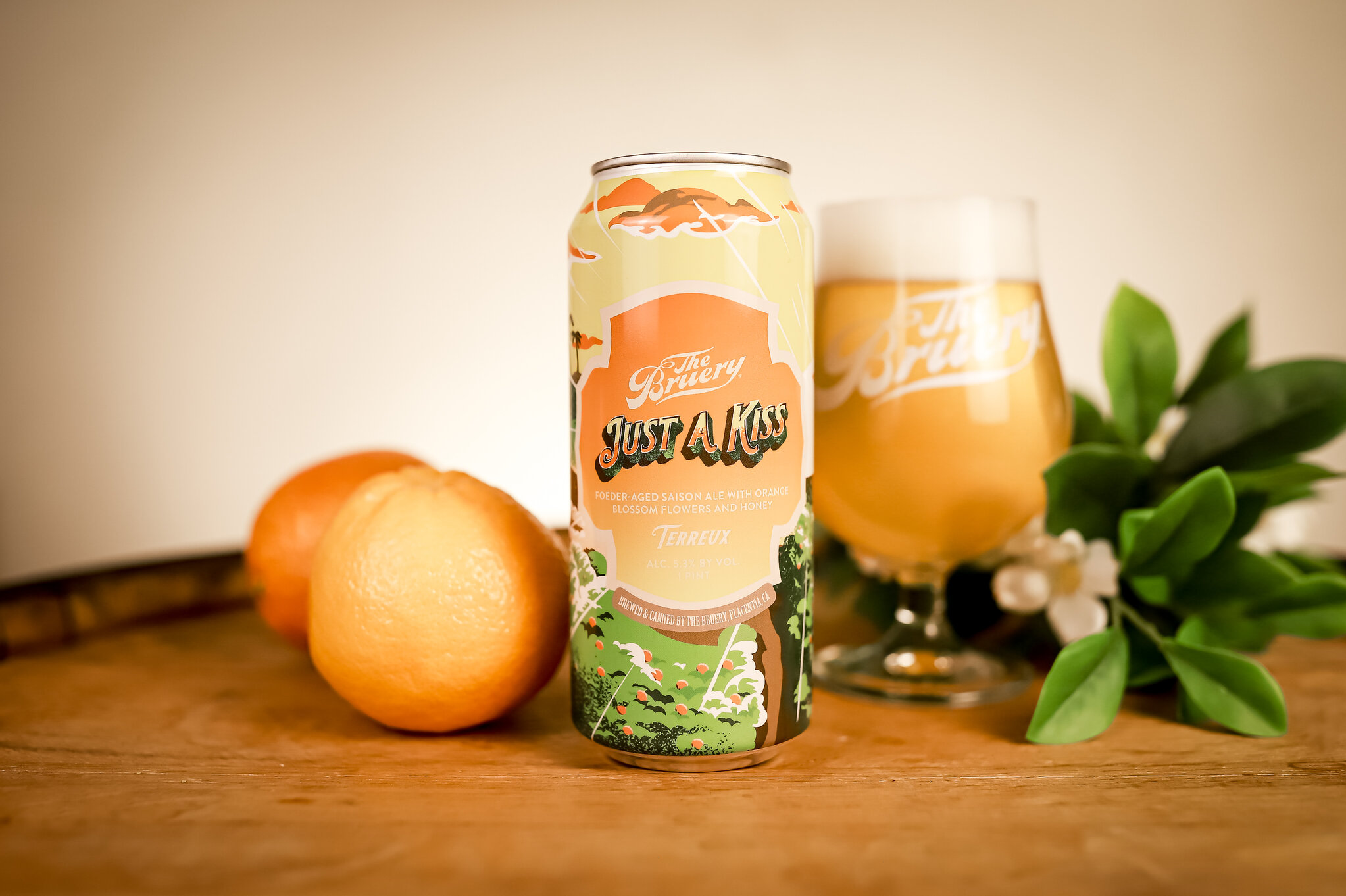The Bruery Launches Newest Seasonal, Just A Kiss: A Love Letter To Southern California photo