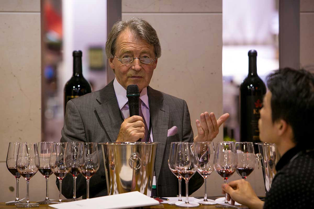 Steven Spurrier Changed Wine Forever With One Tasting photo