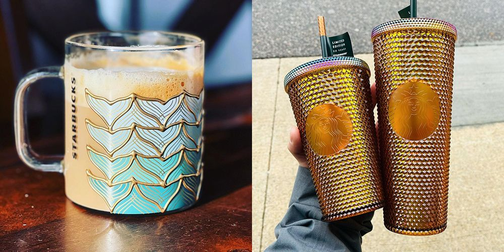 Starbucks Just Released Super-rare Glass And Copper 50th Anniversary Cups photo