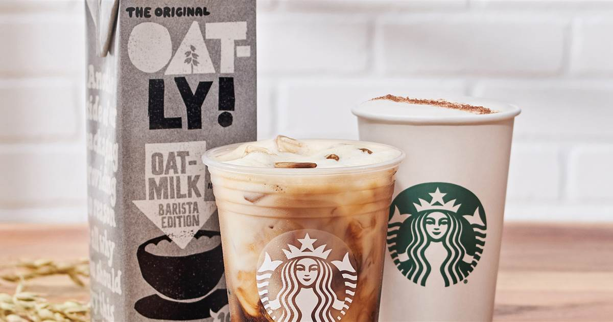 Starbucks' New Spring Menu Has A Lot Of Oat Milk Options photo