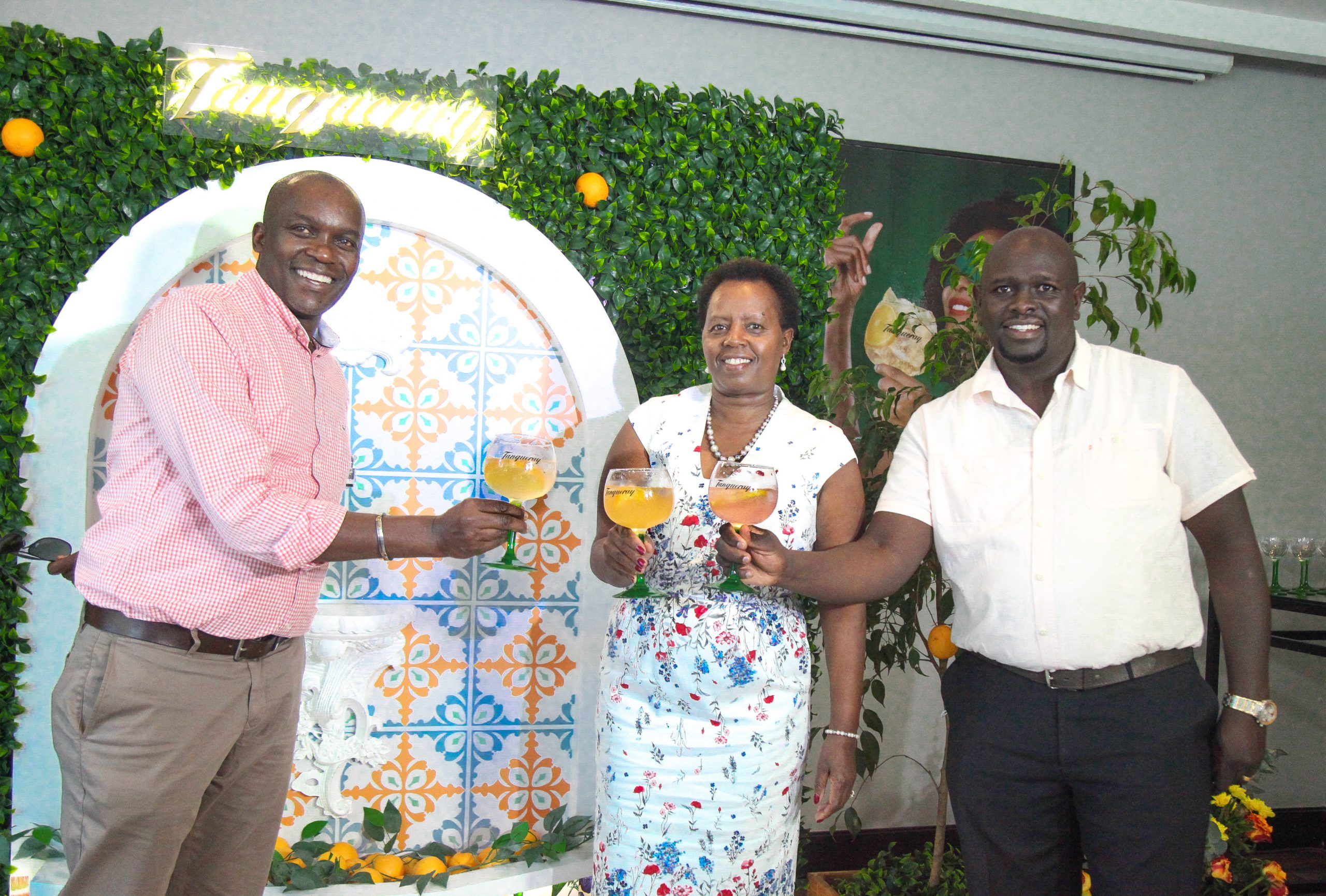 Kbl Officially Launches Tanqueray Flor De Sevilla Gin In Kenya photo