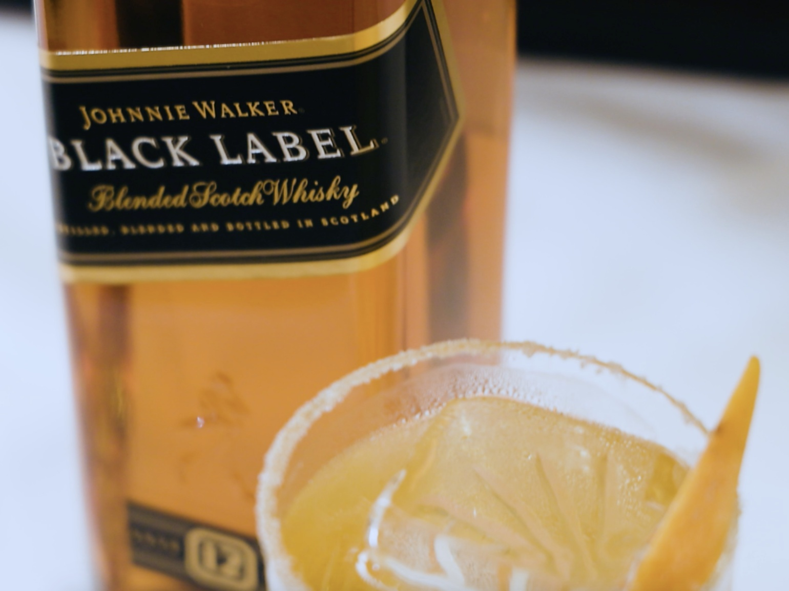 The Home Bar: Johnnie Walker Black Label's Whisky Vice photo