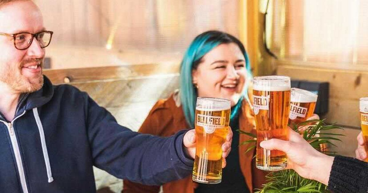 Edinburgh Beer Garden Hit With Over 1k Bookings As Locals Pursue Outdoor Pints photo