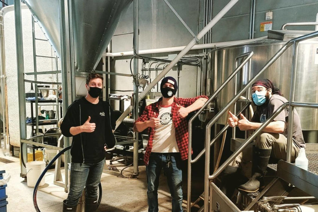 Drinking Buddies: Penticton Brewery Steps Up To Help Out Smaller Competitor photo