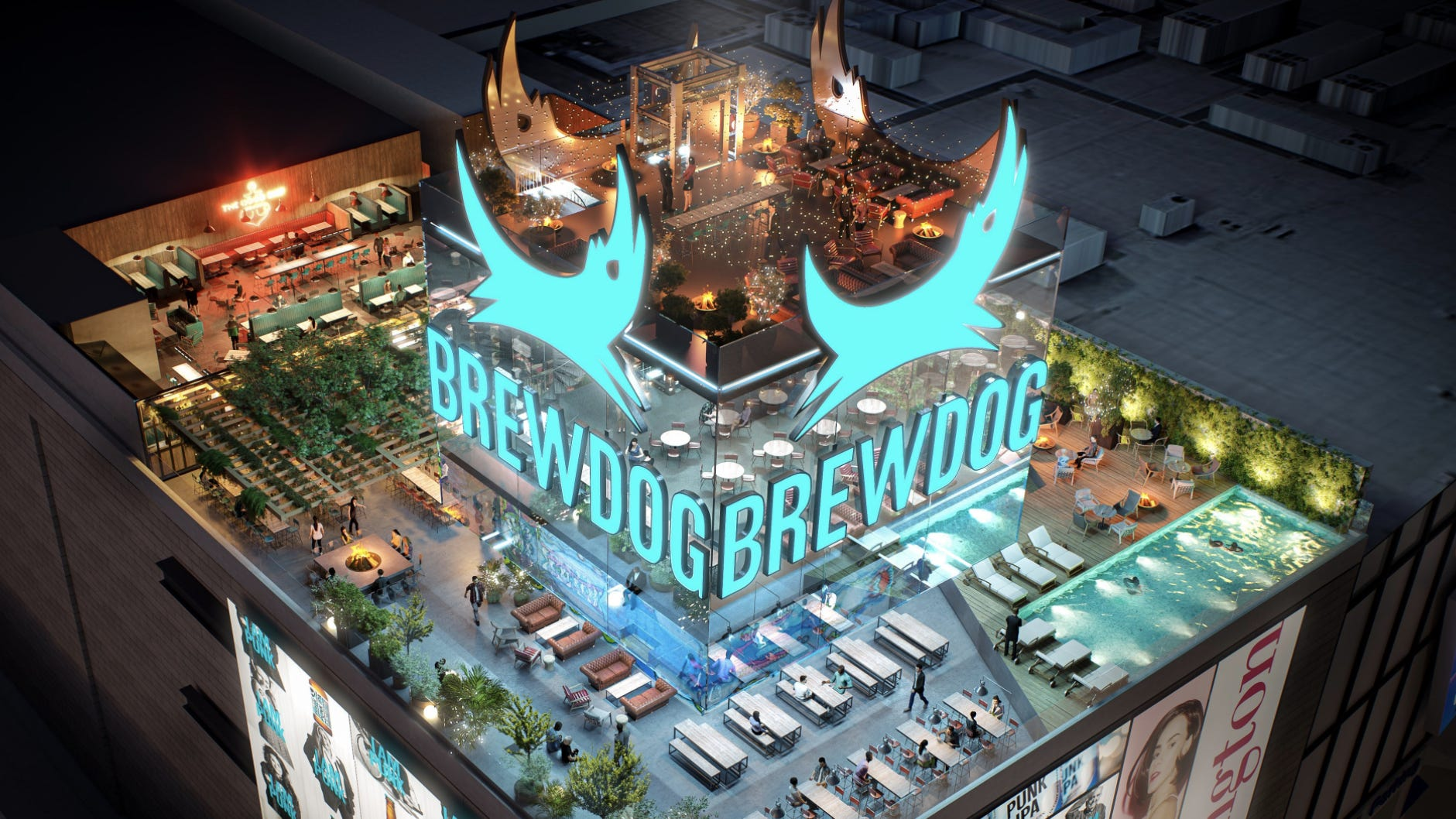 A Brew With A View: Brewdog Signs Lease For A Rooftop Brewery On Las Vegas Strip photo