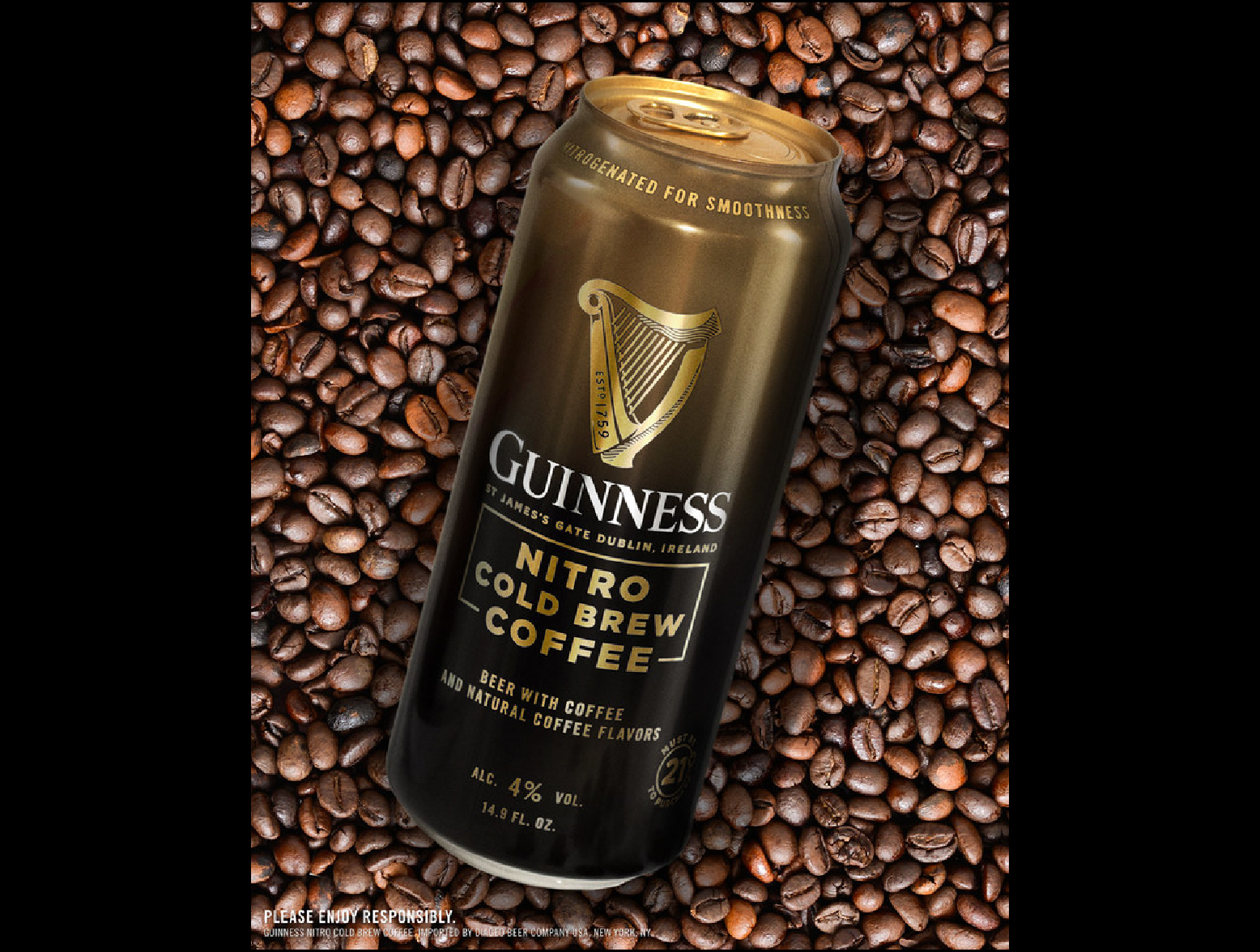 Guinness Nitro Cold Brew Beer Sees Stout And Coffee Collide photo