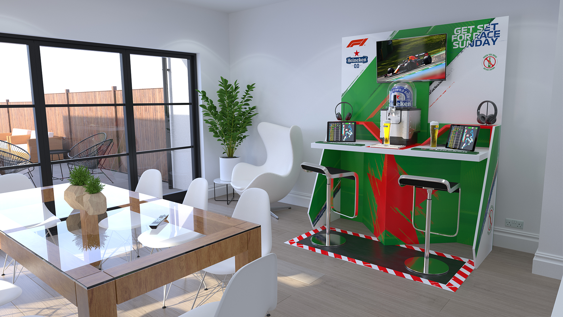 Competition: Win Your Very Own Pit Wall Bar From Heineken! photo
