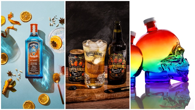Summer Serves: Seasonal Launches From Bombay Sapphire, Kopparberg And Crystal Head Vodka photo