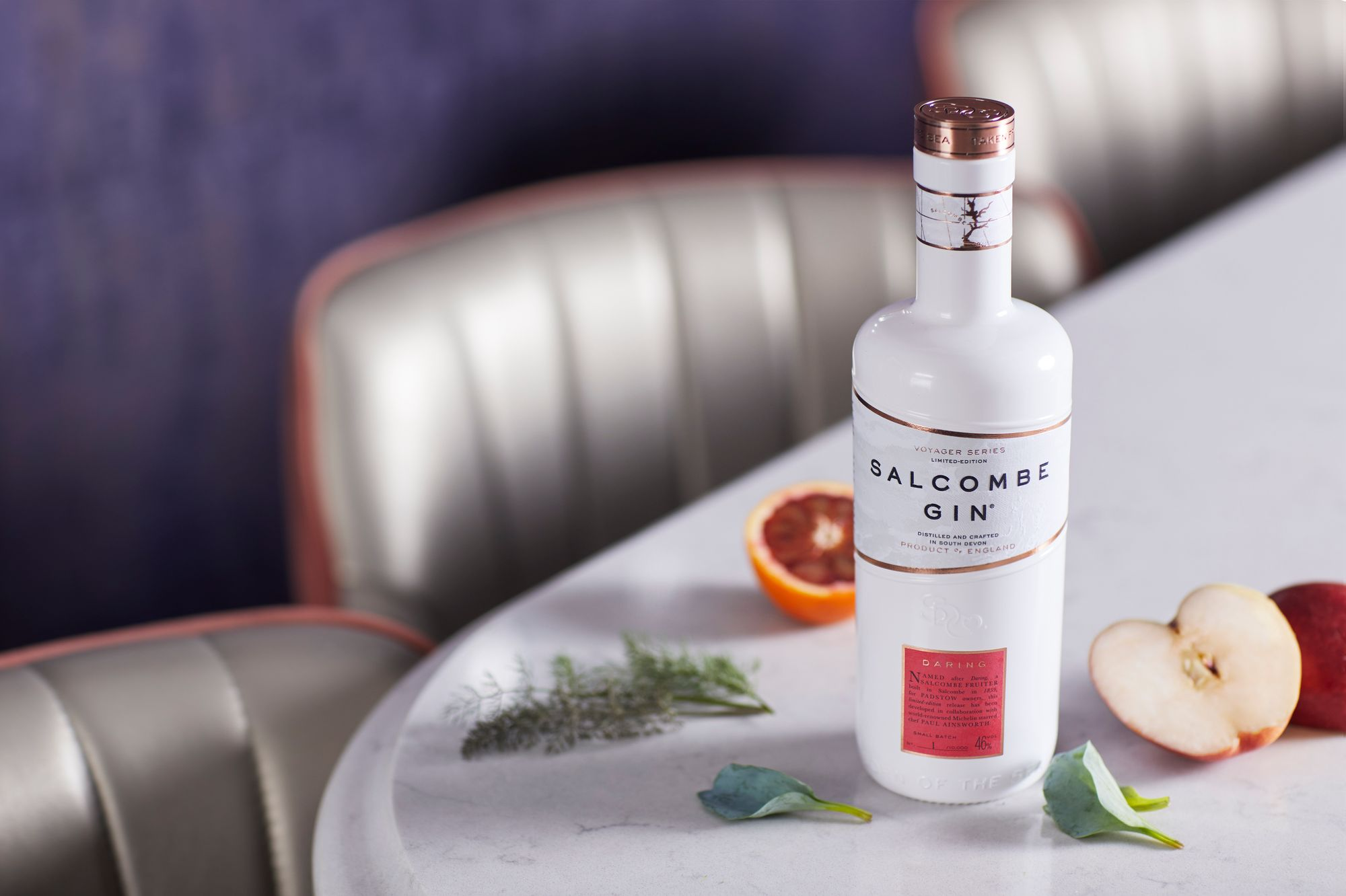 Padstow Michelin Star Chef Paul Ainsworth Teams Up With Salcombe Gin photo
