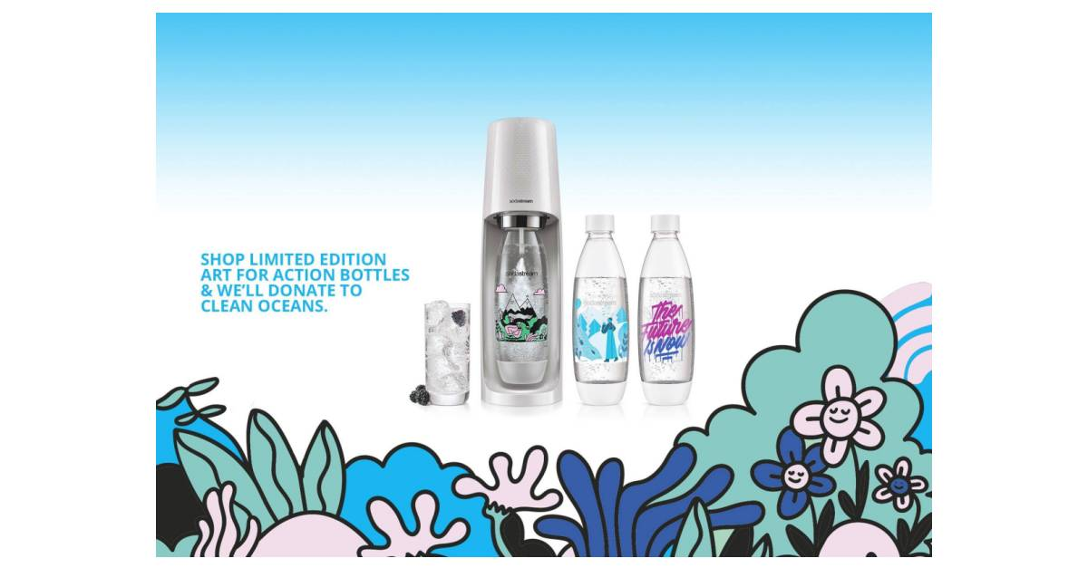 Sodastream Teams Up With Pangeaseed Foundation To Raise Awareness For Ocean Life Conservation To Celebrate Earth Month photo