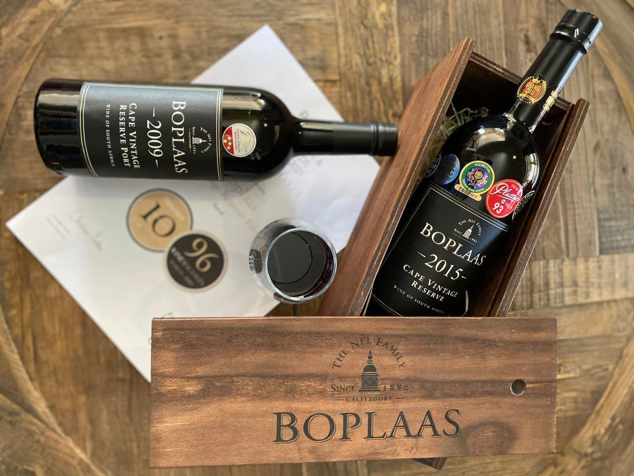 Boplaas Takes Top-spot In WineMag Contest photo