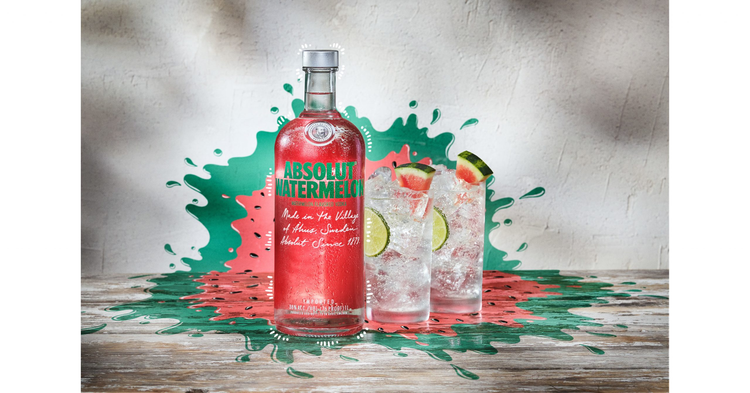 """In Celebration Of The New Watermelon Flavor, Absolut® Vodka Offers One Lucky Fan A Permanent """"fresh Escape"""" At Home This Summer photo"""