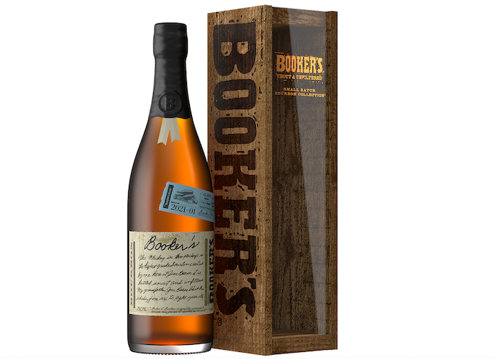 Booker's Bourbon First 2021 Offering Clocks In At 125.3 Proof photo