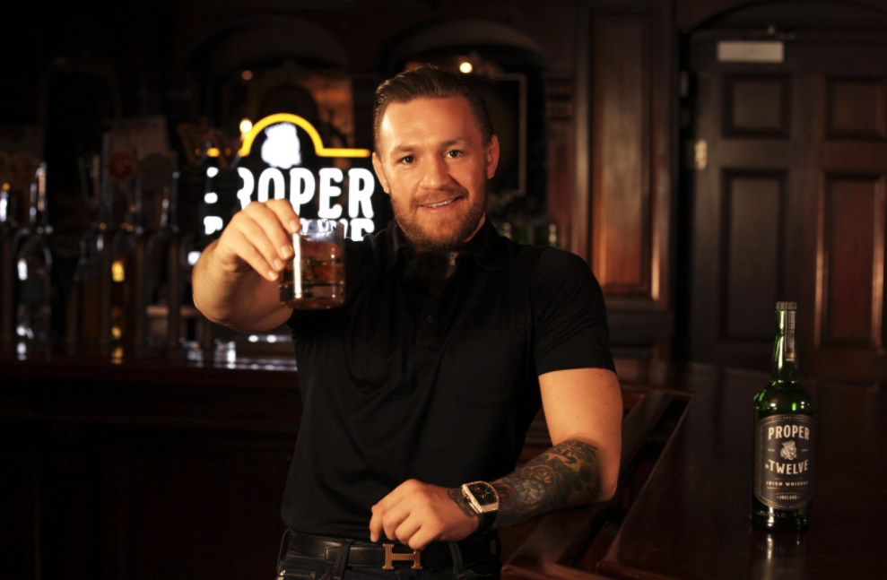 Boxing Champ Conor McGregor And Proximo Spirits Reach Long-term Agreement To Continue Success Of Proper No. Twelve Irish Whiskey photo