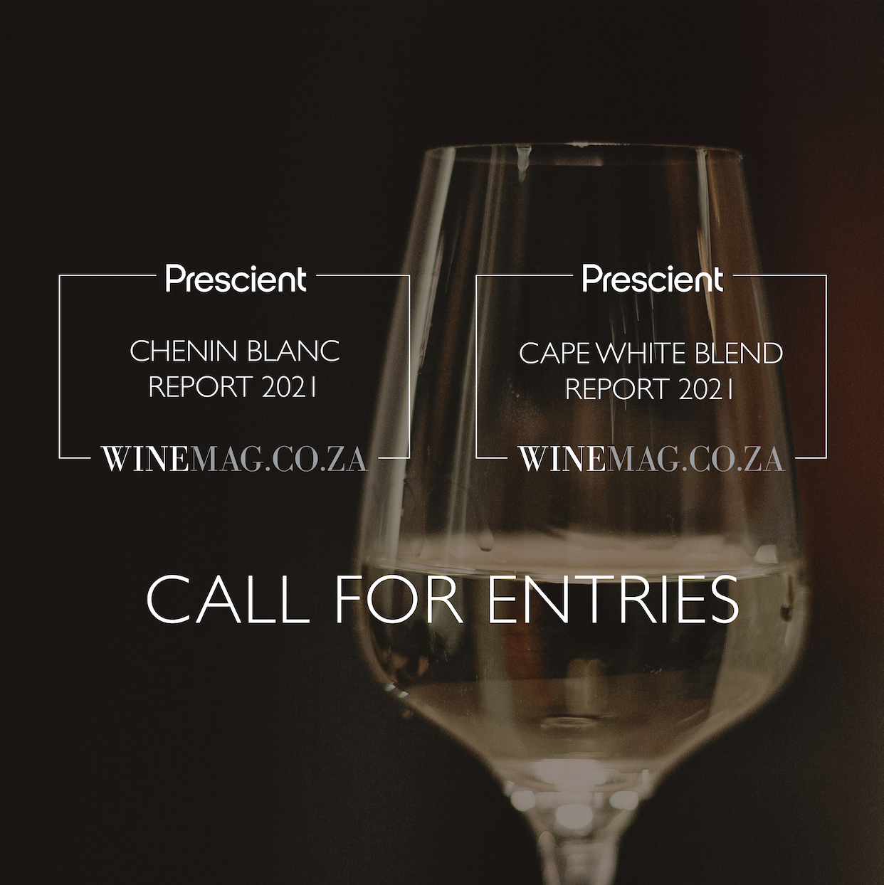 FINAL CALL FOR ENTRY: Chenin Blanc And Cape White Blend Report 2021 photo