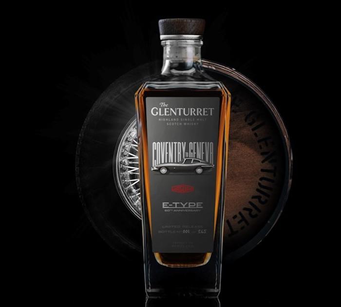New The Glenturret Scotch Release Celebrates 60th Anniversary Of Jaguar E-type photo
