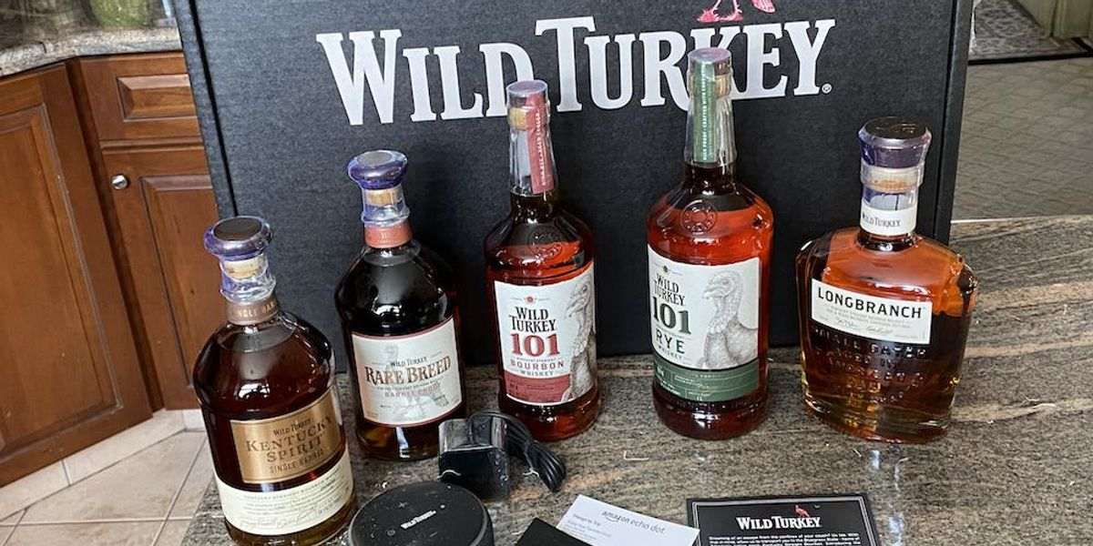 See How Wild Turkey Brings An Immersive Experience For Tasting Quality Bourbons To Your Smart Home. photo