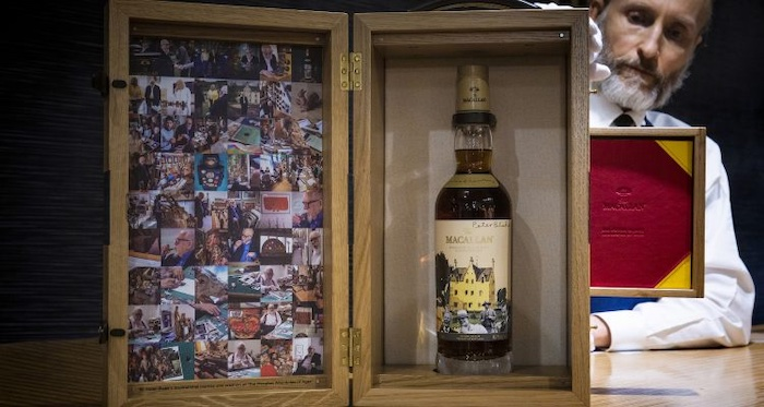 Vintage Whisky From The Macallan 'anecdotes Of Ages Collection' Brings $437,500 At Auction photo