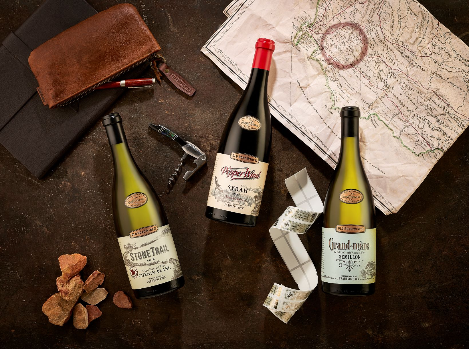 Franschhoek's Old Road Wine Co. Walks Tall in Global Wine Awards Arena photo