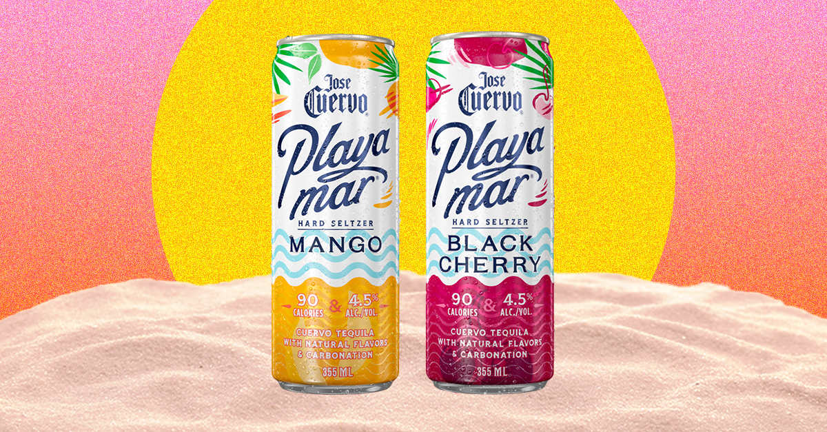 Jose Cuervo Playamar Hard Seltzer Now Available Nationwide Along With Two New Flavors photo