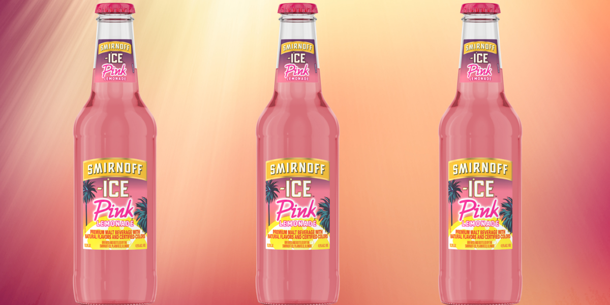 Smirnoff Ice Has A Pink Lemonade Flavor Now And It's Literally Summer In A Bottle photo