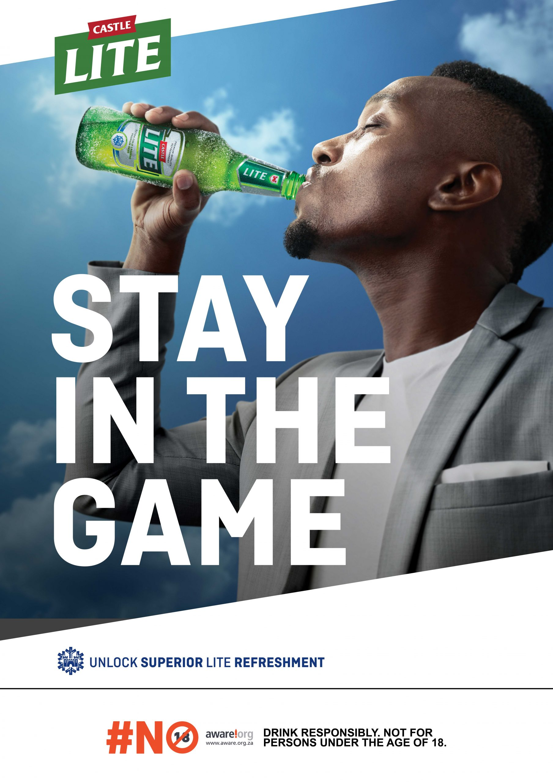 Castle Lite Inspires South Africans To Stay In The Game! photo