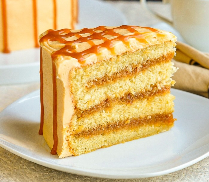 How To Bake The Best Caramel Cake photo