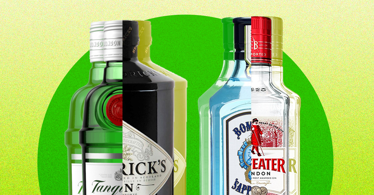 Bombay Vs. Tanqueray Vs. Hendrick's Vs. Beefeater Explained: The Differences Between Them photo