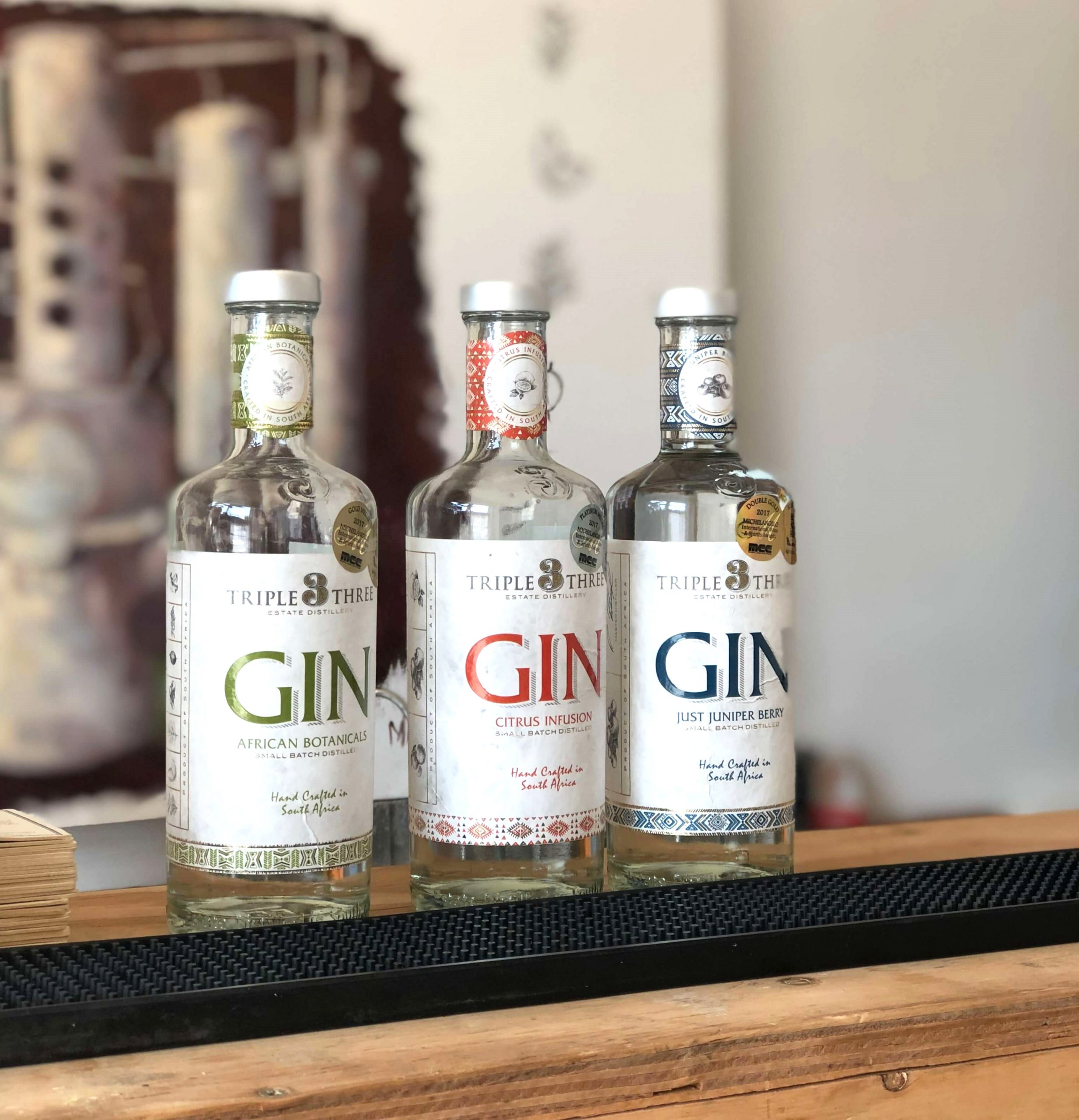 Three Generations Of Distillery Knowledge In Every Sip Of Triple Three Gin photo