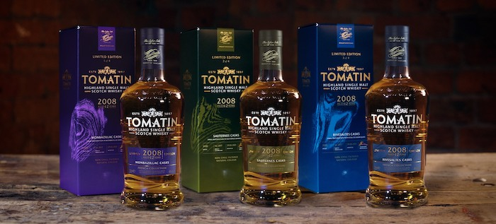 Tomatin Seeks Varied French Cask Influences In New Limited Edition Whisky Collection photo