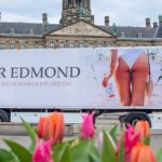 Gin Company Causes A Stir With New Delivery Truck Showcasing A Female's Butt photo