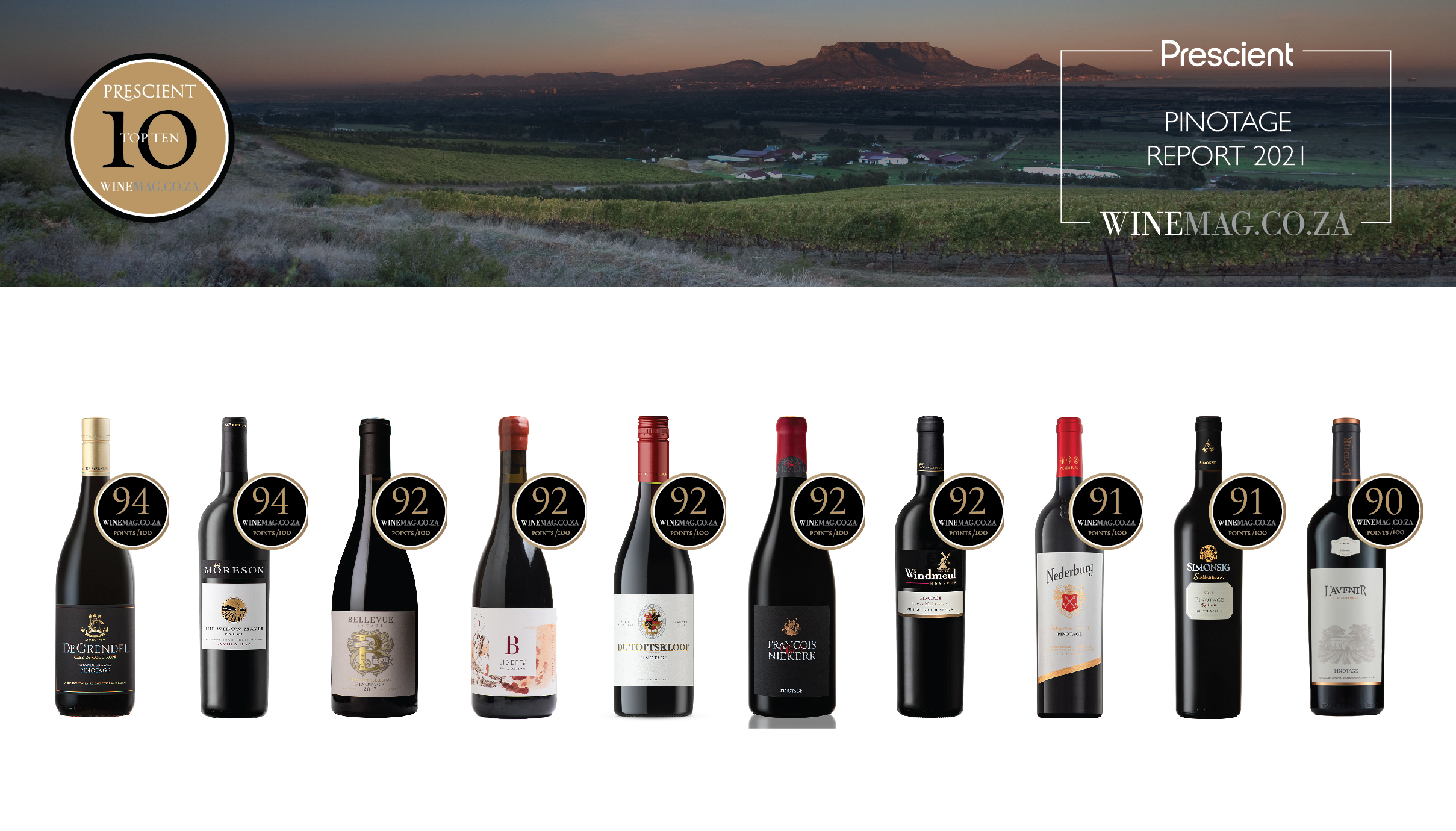 Prescient Pinotage Report 2021 Reveals Some Real South African Wine Gems photo