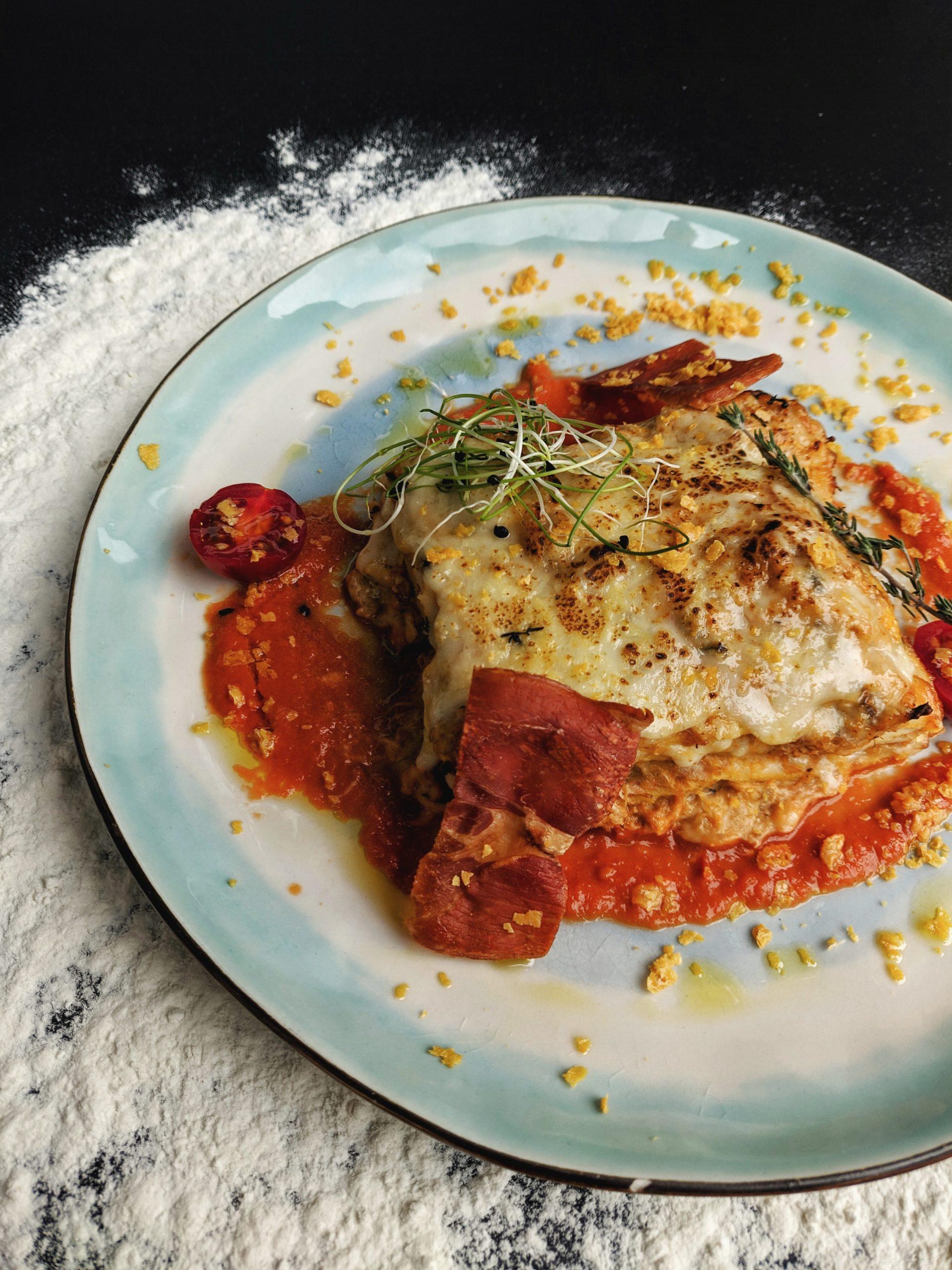 Slow Cooked Pork Lasagna photo