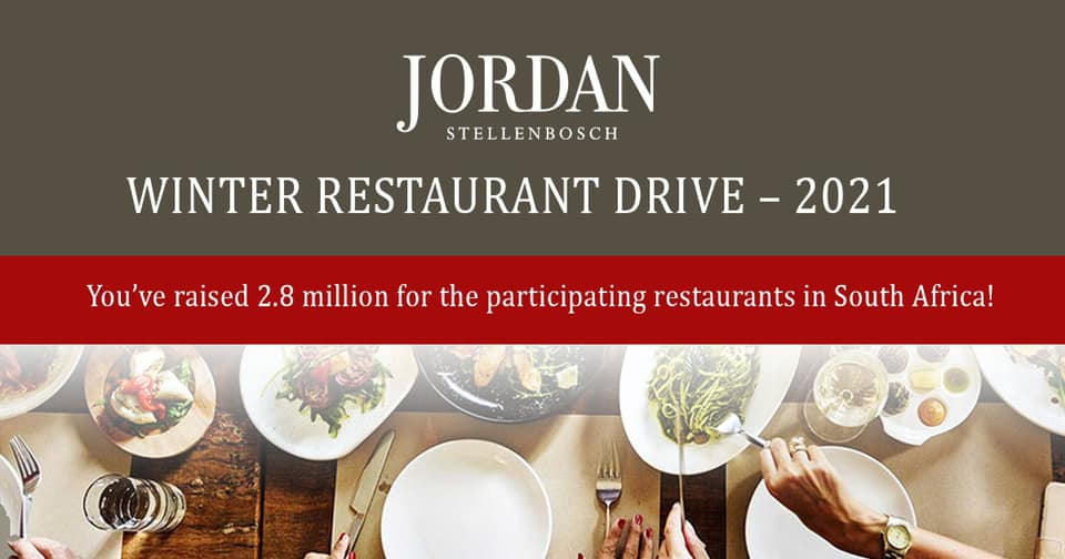 Jordan Restaurant Drive Raises R2.8 Million For Restaurants Around South Africa! photo