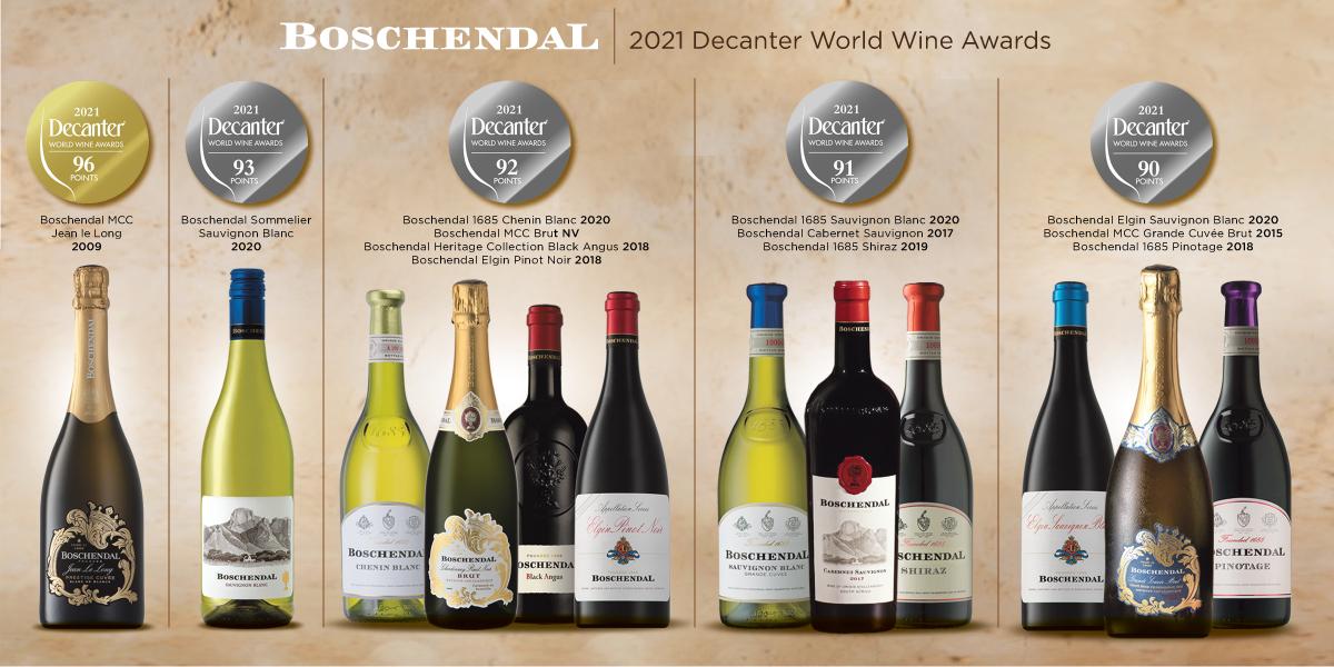 Boschendal Wines Stuns International Judges with 12 Wines Scoring 90pts-Plus photo