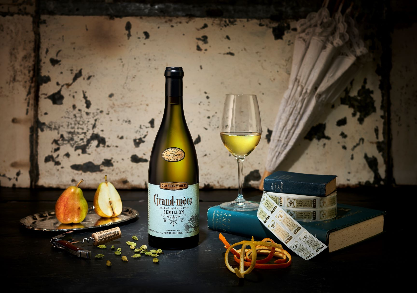 Old Road Wine Co. Honours Franschhoek Old Vine Sémillon with Trophy at Old Mutual Wine Show photo