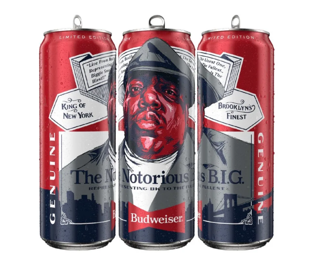 Budweiser Pays Tribute To The Notorious B.I.G. With New Tall Boy Cans photo